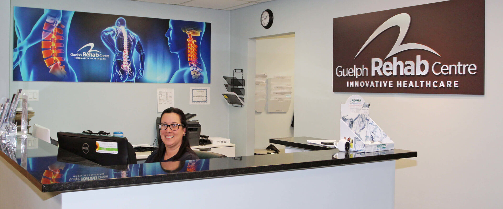 Guelph Rehab Reception
