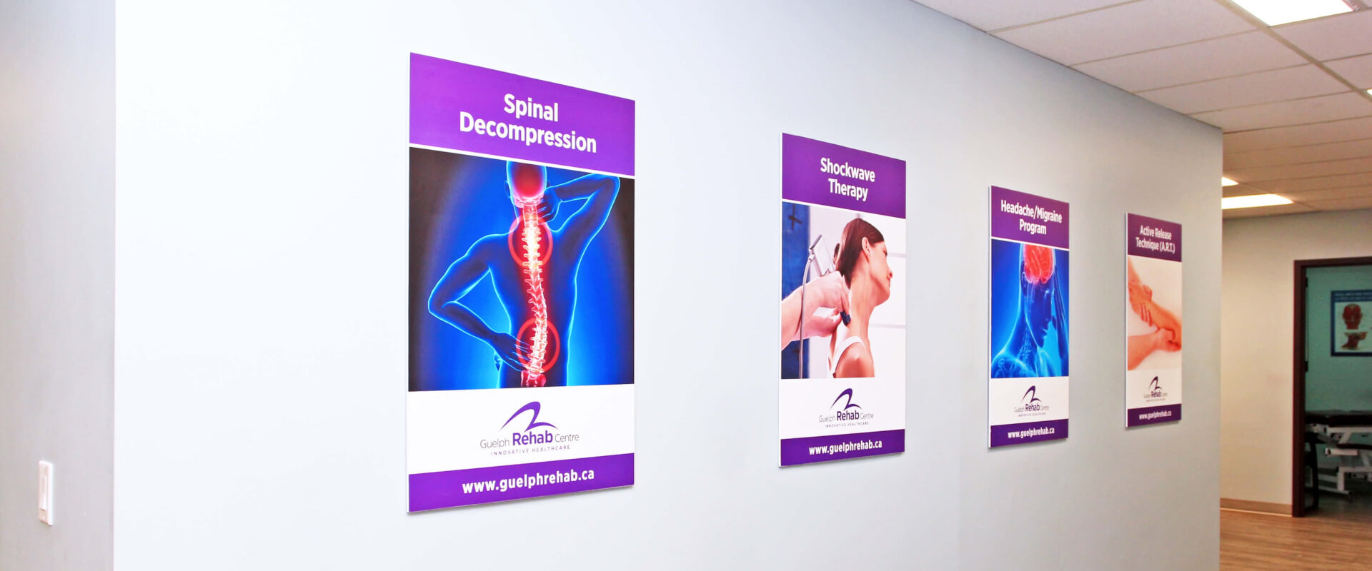 Guelph Rehab Office Posters